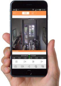 smartphone videosorveglianza